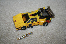 Vintage G1 Transformers Sunstreaker Figure w/Spoiler, Missile - J630