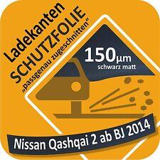für Nissan Qasqai 2 Ladekantenschutz Folie Lackschutzfolie Schutzfolie 150µm