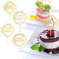 6 Stück Cake Topper Happy Birthday Torten Stecker Geburtstag Party Kuchen Deko ❤