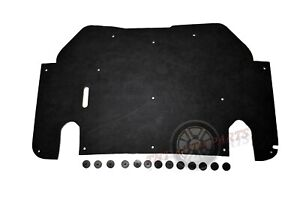 """1993-1997 Ford Ranger Hood Insulation Pad 1/2"""" with clips"""
