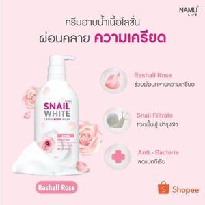 Namu Life Snail White Creme Body Wash Aroma Rashall Rose 500ml