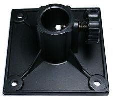 "Pole Mount Adapter Plastic Bracket 1"" diameter square flange set/2"