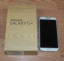 Samsung Galaxy S4 (SCH-I545 UD) 16GB Frost White (Verizon) Smartphone **READ**