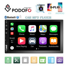 "7"" 2DIN Car MP5 Player BT D-Play Touch Screen Stereo Radio USB Handunit +Camera"