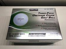 Kirkland Signature 3-piece Urethane Cover Golf Ball, 2-dozen 24 balls. Brand New