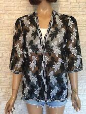 Polyester Tunic/Kaftan Vintage Tops & Shirts for Women