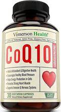 Vimerson Health CoQ10 Ubiquinone 200mg- Healthy Brain, Heart, Digestive & Immune