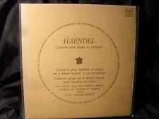 G. - F. Haendel-Concertos pour Harmel & hautebois et cordes/AURIACOMBE