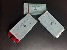 Lot de 3 boites de coton DMC ( DOLLFUS -MIEG & Cie année 1973 ) boite de 12