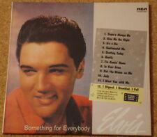 ELVIS PRESLEY - Something For Everybody - NEW CD album - FREEPOST IN UK
