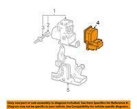 Buick GM OEM 05-07 LaCrosse ABS Anti-Lock Brake System-Control Module 19301999