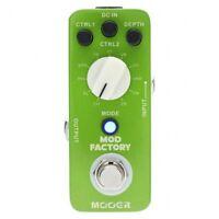 MOOER MOD FACTORY MKII  Digital Modern Modulation Guitar Effect Pedal Processsor
