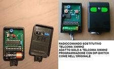 TELECOMANDO RADIOCOMANDO SUPERATTIVO TELCOMA 306 MHZ COMPATIBILE TX271 TX272