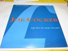 "JOE COCKER - NOW THAT THE MAGIC!!!RARE FRENCH PROMO 12"""