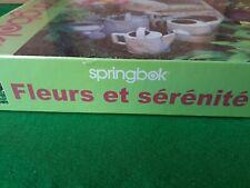 Springbok Jigsaw Puzzle Floral Serenity Gordon Flower Garden 1000 Piece Sealed
