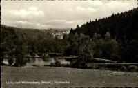 Wünnenberg Westfalen alte Postkarte 1968 gelaufen Partie an den Fischteichen