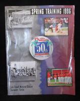 Philadelphia Phillies Spring Training 1996 Program