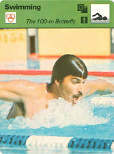 MARK SPITZ 1978 Sportscaster Card #51-09 High #   SWIMMING GOLD MEDALS