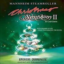 Christmas Symphony II Mannheim Steamroller CD Oct 2013 American Gramaphone NEW