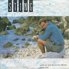 "STING - Love Is The Seventh Wave (New Mix) (UK 2 Tk 1985 7"" Single PS)"
