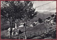 VERCELLI SCOPELLO 48 VALSESIA MERA Cartolina FOTOGRAFICA viaggiata 1959