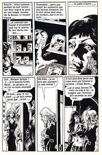 PORTES DU CAUCHEMAR : PLANCHE DE MONTAGE ORIGINALE SPECTRAL PAGE 3