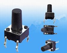 10pcs 6x6x10 mm Momentary Tactile Push Button Switch SPST Miniature/Mini PCB
