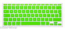 Copritastiera Tastiera protettiva silicone MacBook Air/Pro/Retina 13-15-17 VERDE