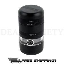 Kannastor GR8TR V2 Jar Body Easy Change Screen Black Grinder