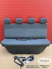 Opel Movano Master NV400 Sitzbank Sitz Fahrgastraum Hinten Vier Sitze DOKA