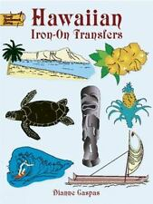 Hawaiian Iron-On Transfers-75 designs to transfer-Dover Needlework Series-Gaspas