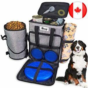 Travel Dog Bag Organizer, Airplane Approved Pet Carrier Backpack, Pet Travel Tot