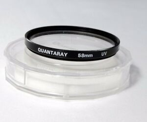 Quantaray 58mm UV Filter used