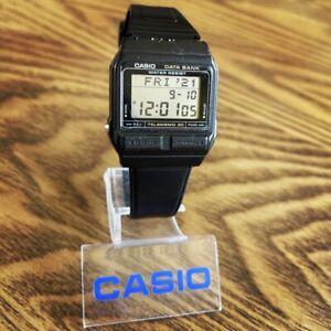RARE Vintage 1988 Casio DB-31 Digital Data Bank Telememo 30 Watch, Module 871
