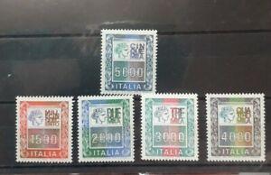 1978 - 1979 ITALIA FRANCOBOLLI ALTI VALORI 1500 , 2000 , 3000 ,4000 5000...