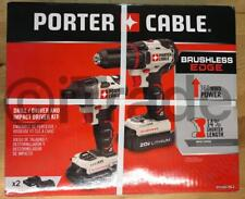 PORTER-CABLE PCCK618L2 2-Tool 20V Max Lithium Ion Brushless Cordless Combo NEW
