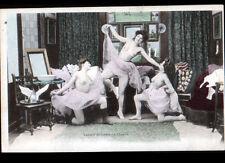 ARTISTE / Scéne de NU dans LOGE de L'OPERA / VOILAGE avant 1904