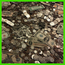 ✯ESTATE LOT OLD US COINS MONEY HOARD SET $✯ GOLD SILVER BULLION ✯HALF POUND LB ✯