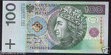 100 ZL - zloty/złotych - POLAND/POLEN/POLSKA -1994 - P-176-UNC
