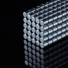 100x Neodym Scheiben Magnete D3x3 NdFeB N45 300g stark rund