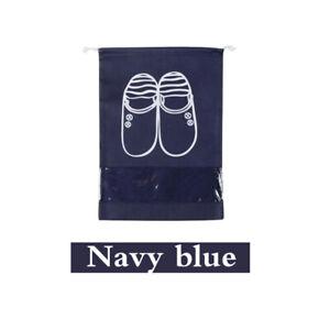 Portable Drawstring Shoes Bag Waterproof Travel Tote Organizer Pouch Storage Bag