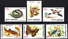 Romania 1993  Protected Fauna Animals complete set of stamps MNH