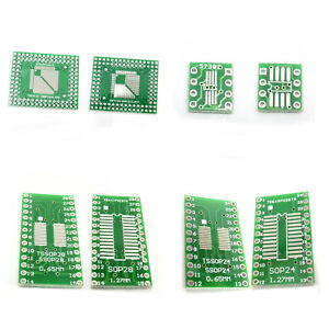 PCB Converter Board Adapter QFP TQFP LQFP FQFP SOP SO SOIC TSSOP MSOP to DIP
