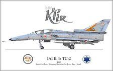 IAI K-Fir TC-2 IAF Israel Air Force - Poster Profile