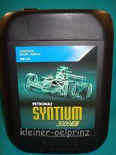 20 ltr. Petronas Syntium 3000 AV 5W-40 Motoröl BMW LL-04 / MB 229.51 / VW 505.01