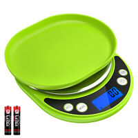 0.1g-3000g Jewelry Kitchen Digital LCD Electronic Balance Food Diet Weight Scale