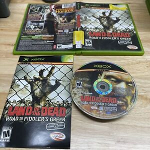 Land of the Dead: Road to Fiddler's Green Microsoft Xbox 2005 Complete *