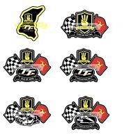 Official 3 Wheeling & Isle of Man TT Sidecar Racing Stickers