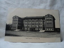 St. Louis Mo Missouri Smith Academy early 1900's Postcard
