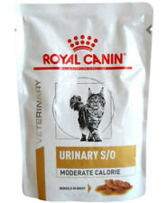 12x85g Royal Canin Urinary S/O Moderate Calorie Häppchen in Soße Frischebeutel